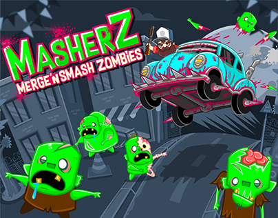 MasherZ: Merge'n Smash Zombies Mobile Game Design
