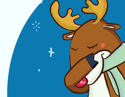 Dabbin' Rudolph
