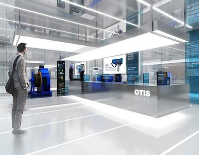 Otis Elevator Showroom
