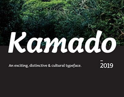 Kamado Typeface