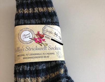 Sockenbanderole/socks banderole