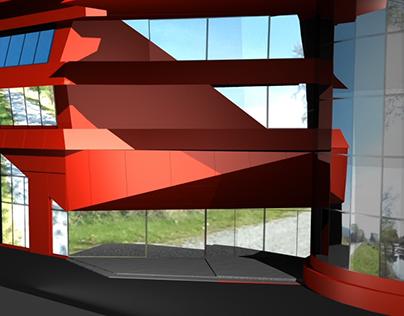 Anim250 Final Project: Elements Mall Model