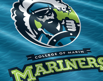 College Of Marin Mariners Branding