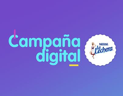 CAMPAÑA DIGITAL LA LECHERA DE NESTLÉ 2017