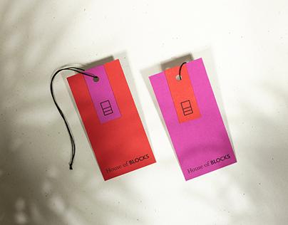 House of Blocks / fashion branding