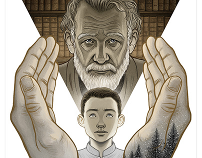The Giver - Book Cover Tribute