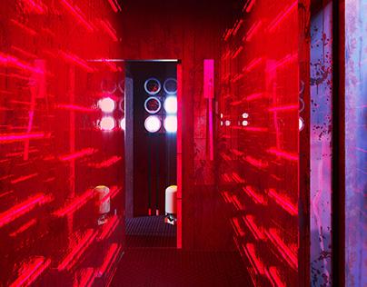 Resident Evil | Quest Room Interior Design