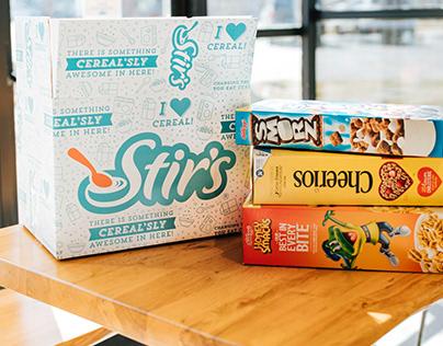 Stir's Packaging Design
