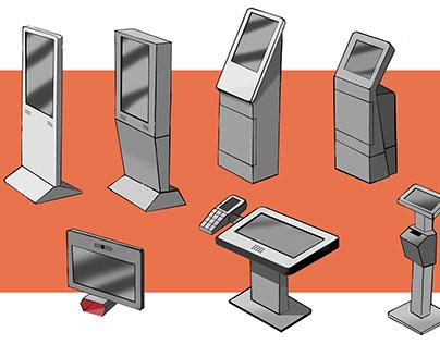 Kioscos interactivos - Kiosks ideas