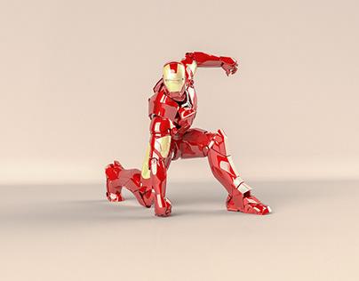 Iron Man Armor Mark III - 3D Model