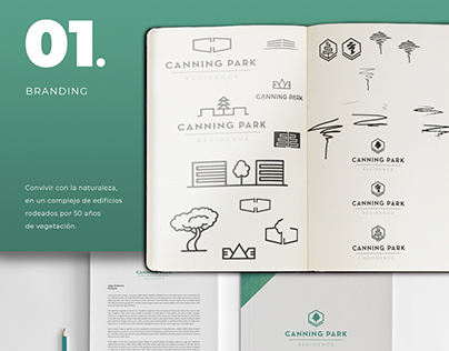 Canning Park Residences - Branding & Sales tools.