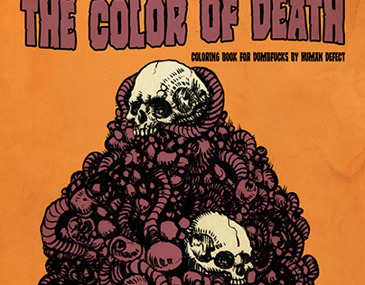The Color Of Death Coloring Book