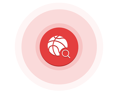 Application Design UI/UX design for basketball app