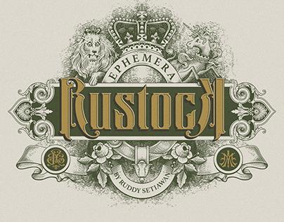 Ephemera Rustock Fonts