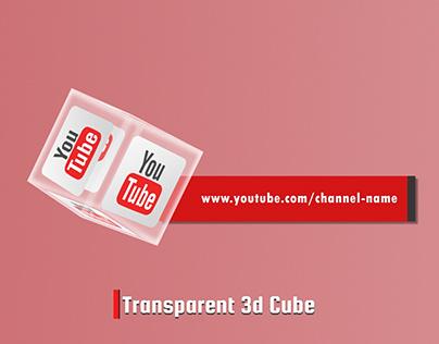 Transparent 3d Cube