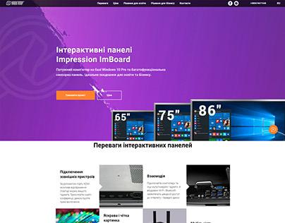 Сайт для клиента на Tilda (Мультиборды)