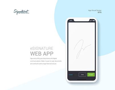 Signaturit Web App