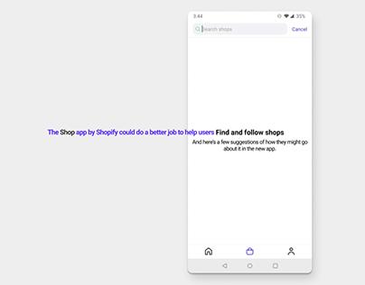 audit - Shop app