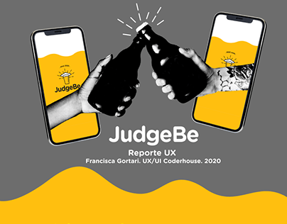 App JudgeBe. Reporte UX