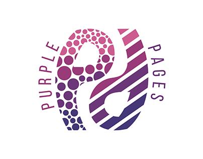 Purple Pages - concept logo