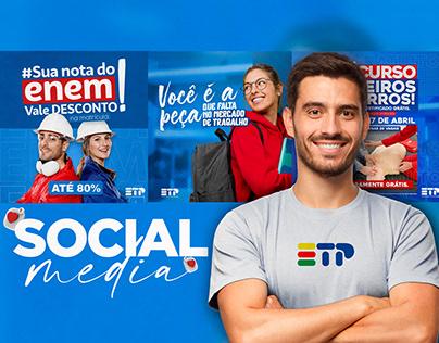 Social Media - Escola