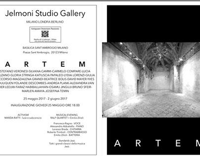 """""""artem"""" exhibition at """"ORATORIO DELLA PASSIONE"""