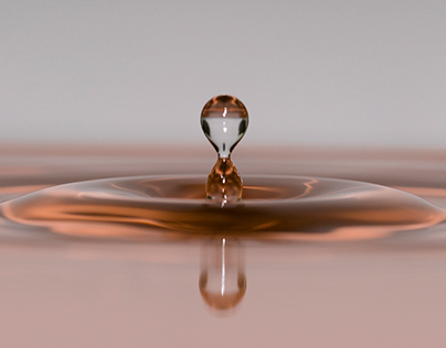 Photo Series: Liquids / Case 01: Water Drops