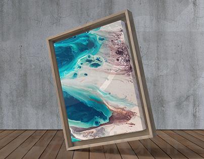 Free Wood Frame Canvas Mock-Up (+1 Free Mockup)