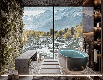 Bathroom design idea by Mohammad Hossein Rabbani Zade