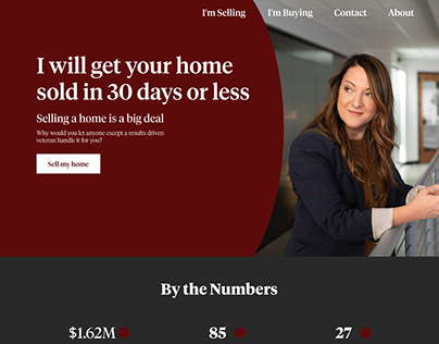 Real Estate Agent Web Design and Development Project