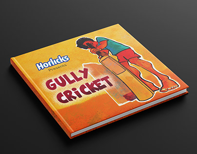 GULLY CRICKET illustration project part 1