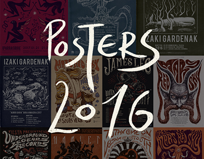Posters 2016