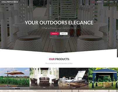 Chilli Pepper Deco Website