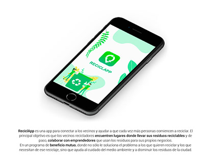 ReciclApp - Diseño UX