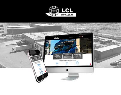 Usługi logistyczne - projekt i wdrożenie strony