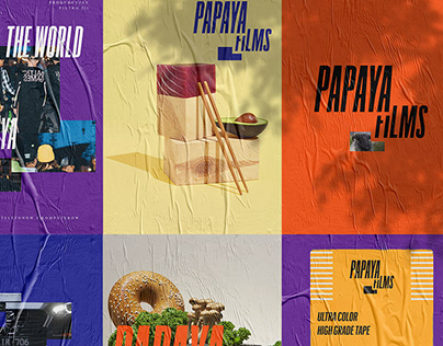 Papaya Films re-branding
