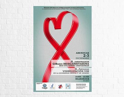 """Gráfica """"2. jornadas de Visibilización VIH"""""""