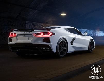 Corvette C8 Stingray 2020 | Unreal Engine 4