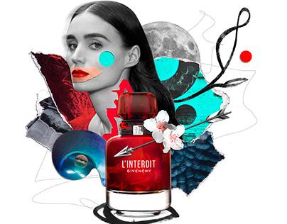 Collage illustrations for Tatler Magazine
