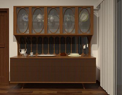 CROCKERY CABINET | Furniture Design