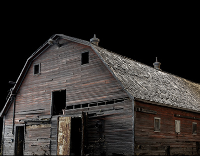 Old Barn 3D scan