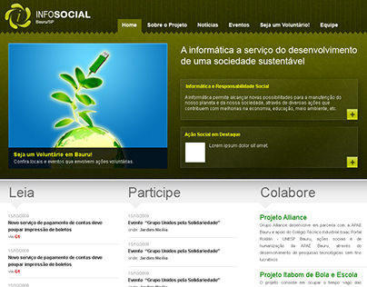 InfoSocial - Academic Project