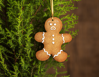 Angry Gingerbreadman
