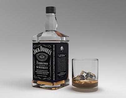 3D Whiskey