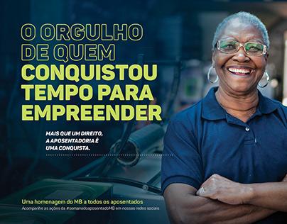 Mercantil do Brasil - Dia do Aposentado -