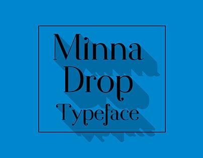 Minna Drop Free Typeface