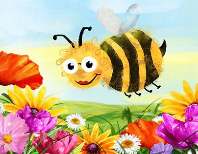 Bąk – the little bumblebee