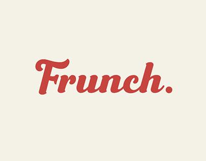 Frunch ~ Delicious Bold Script Font