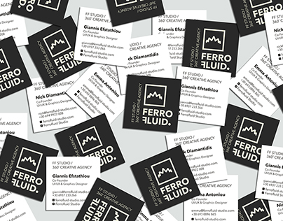 FerroFluid Studio Identity
