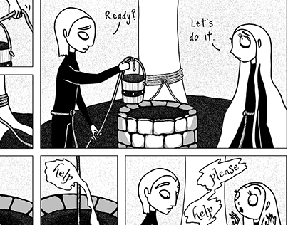 Jack & Jill- Short comics